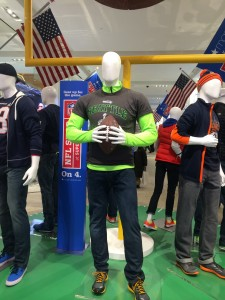 As you walked into the front door of Macy's on 34th street you were greater by a pale and faceless 12th man.