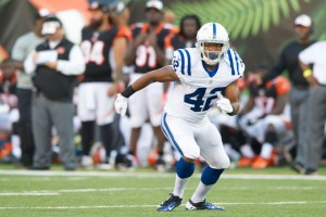 Marcus Burley.  Photo from Colts.com